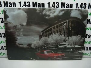 PA125F PLAQUES TOLEE 20 X 30 cm : Ford Mustang