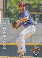 2016 Frisco RoughRiders Cody Buckel RC Rookie Rangers