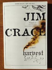 UNCORRECTED PROOF Harvest Jim Crace Rare Collector's Copy