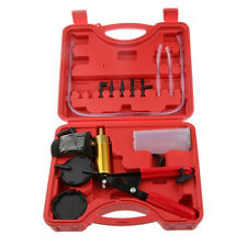 Hand Held Brake Bleeder Tester Set Bleed Kit Vacuum Pump for Car Motorbike