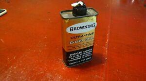 1960's Vintage Advertising Browning Gun Oil Tin Can