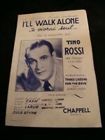 Partitur Je Leben Seul Tino Rossi Sheet Music