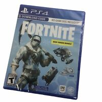 Fortnite Deep Freeze PS4 Code No Physical Game Deep Freeze Bundle NEW SEALED