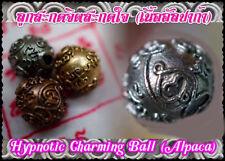 Hypnotic Charming Ball Phra Arjarn O, Phetchabun. Thai Amulet Love Charm Look Om