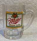 MILLER High Life Beer Mini Mug Shot Glass Rare Collectible From Miller Gift Shop