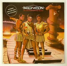 """12"""" LP-imagination-in the heat of the Night-b1496-Slavati & cleaned"""