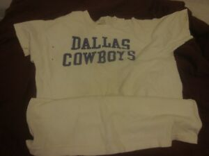 circa 1970' Vintage NFL Football Dallas Cowboys Undershirt