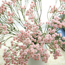 Artificial Fake Babys Breath Gypsophila Silk Flowers Bouquet Home Wedding Gift