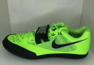 NIKE ZOOM SD 4 SHOT PUT DISCUS THROWING SHOES SIZE 9 ELECTRIC GREEN 685135-300