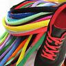 Women Men Shoelaces Colorful Coloured Oval Bootlace Sneaker shoe laces 100-160CM