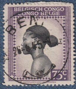 BELGIUM CONGO  1942  75c Good Used with ' BENI ' cds  (P162)