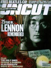 UNCUT MAGAZINE OCT 2005 . THE BEATLES JOHN LENNON FRONT COVER