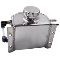 Universal 1L 6061-T6 Aluminium Oil Catch Can Breather Tank Best Polished