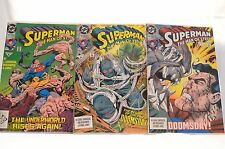Death of Superman Complete Run VF to NM!!!