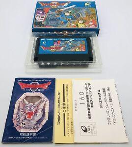 NES Famicom Nintendo Dragon Quest 2 II Japanese Version US Seller