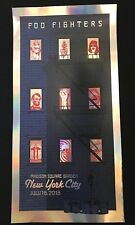 Foo Fighters Poster MSG NYC Event Numbered 14/30 July 16 2018 Sold Out