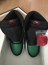 Nike Air Jordan 1 Retro Mid Pine Green Toe Gym Red Black 554724 067 SZ 8 13