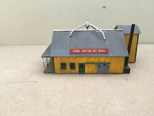 HO Scale Building, Wood Box Store, Weathered, Built Used