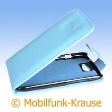 Flip Case Etui Handytasche Tasche hülle F. HTC One s (türkis)