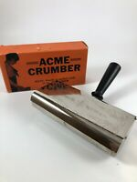Vtg Antique Acme 1930's Table Crumber USA Roller Brush Style New Model 8281 NOS