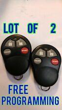 LOT OF 2 OMEGA ATV ALARM KEYLESS REMOTE KEY FOB CLICKER ELV144 *FREE PROGRAM*