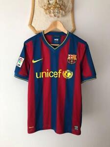 FC BARCELONA 2009 2010 HOME FOOTBALL SOCCER SHIRT JERSEY NIKE ADULT 343808-496