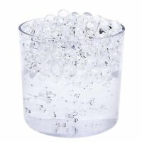 20g Clear Water Aqua Crystal Beads for Birthday Party Table Vase Filler Decor UK