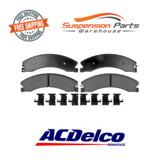 Replacement Rear Disc Brake Pad-Ceramic 4 Pads Chevrolet Silverado 2500 3500 HD