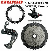LTWOO AT12 12 Speed Groupset 1x12 Speed Groupset 50T 52T ZRACE Cassette