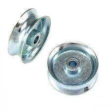 2 Seilrollen 35mm Rolle / Seilrolle / Umlenkrolle Seilldurch,- bis 9mm