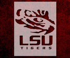 LSU Tigers Louisiana State Tiger Eye 8.5 x 11 Custom Stencil FREE SHIPPING (514)