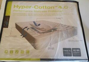 NEW Hyper-Cotton 4.0 Performance Mattress Protector Twin XL or Split King Deep