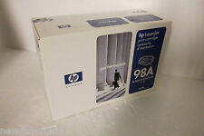 HP OEM 98A Black Toner Cartridge LaserJet 4 5 4 Plus 5N 5M 92298A MFR SEALED NEW