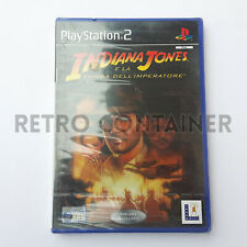 Vintage Game SONY PLAYSTATION 2 PS2 - Indiana Jones e la Tomba dell'Imperatore