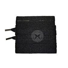 Mr Lacy Magnies - Black Magnetic Tips Shoelaces - 130cm Length 8mm Width