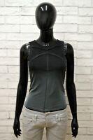 Maglia DIESEL Donna Taglia Size M Maglietta Canotta Shirt Woman Cotone Slim Fit
