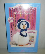 1987 Wow Talking Mother Goose Birthday Surprise Tape Book Outfit *Unused Misb