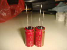 2 X MADE IN JAPAN ELNA RED CERAFINE 470uF 25V AUDIO GRADE ELECTROLYTIC CAPACITOR