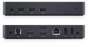 Dell USB 3.0 Ultra HD/4K Triple Display Docking Station D3100 Dock - BRAND NEW