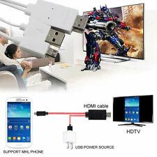 CAVO ADATTATORE MHL MICRO USB HDMI PER SAMSUNG S3 S4 S5 NOTE 2 3 Iphone Huawei