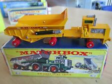 MATCHBOX K-2 King Size KW-Dart Dump Truck BOX OVP 60er Jahre