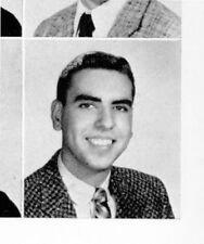 GERALD LEVIN 1956 Lower Merion High School Yearbook Ardmore, PA
