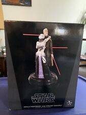 GENTLE GIANT STAR WARS CLONE WARS ASAJJ VENTRESS COUNT DOOKU 1/6 STATUE NEW #80
