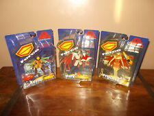 Battle of the Planets - Series 1 Figures Mark, Princess, Keyop - MOSC