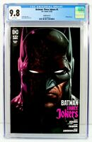 BATMAN THREE JOKERS #1 CGC 9.8 NM/MT Jason Fabok BATMAN Variant Cover DC 10/2020