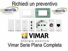 vimar plana serie completa stock vimar plana presa interruttore placca bipolare