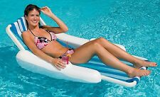 Swimline 10000SL SunChaser Sling Style Floating Lounge Chair For Swimming Pool