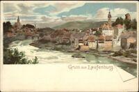 Gruss Aus Laufenburg c1900 Postcard - Switzerland