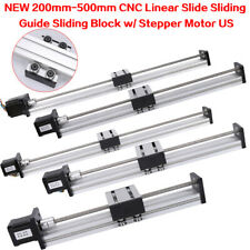 200-500mm CNC Linear Slide Motion Rail Guide Stage Actuator 42/57 Stepper motor