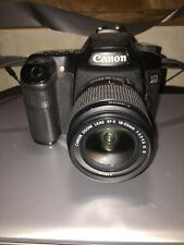 Canon EOS 40D 10,1mp Digital SLR Camera wEF-S Lens 3,5-5,6/18-55 II USM. Japan.